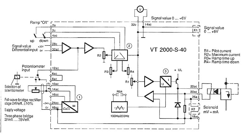 voltmeter wiring diagram 2003 toyota corolla ac troubleshooting proportional amplifiers & valves