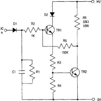 Amplifier Circuits of Stepper Motor