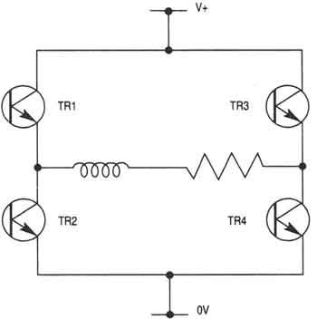 Amplifier Circuits of Stepper Motor