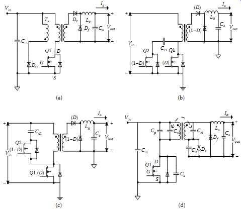 Flyback Transformer Circuit Voltage Transformer Circuit