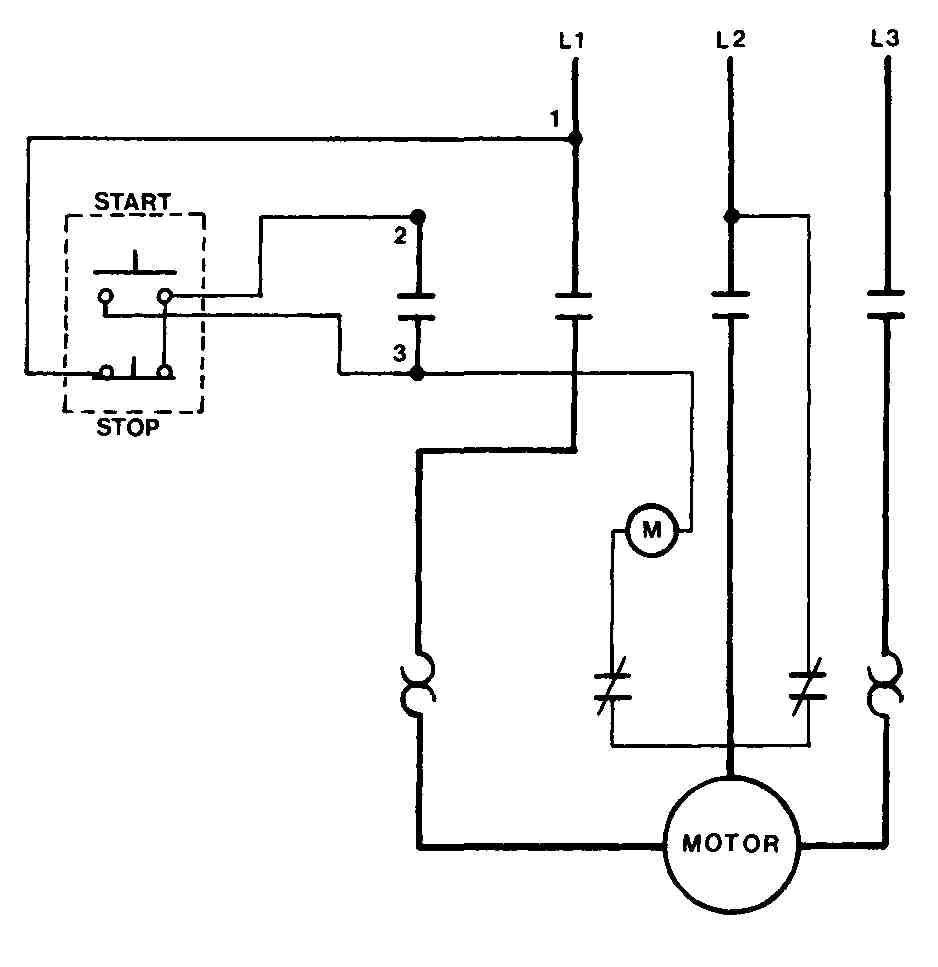 motor schematic with hoa