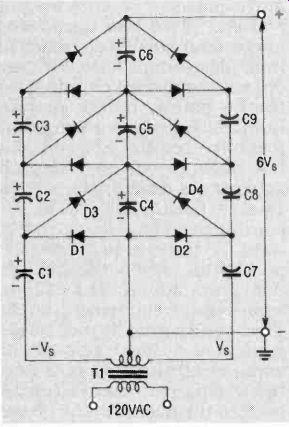 Voltage doublers