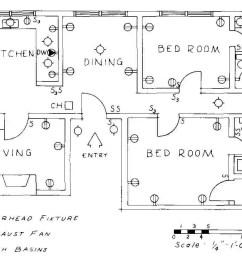 floor plan of luxury apartment  [ 1109 x 834 Pixel ]