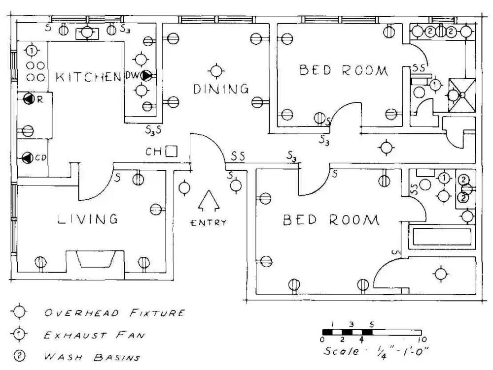 medium resolution of floor plan of luxury apartment