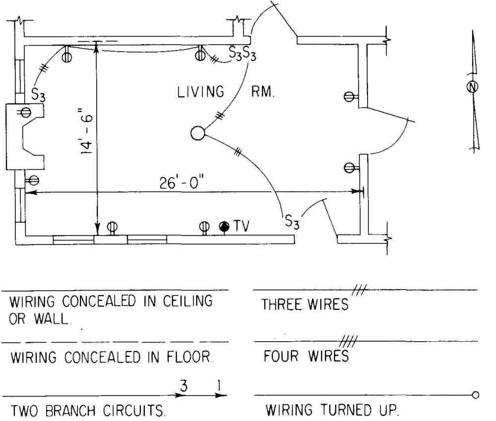 medium resolution of electrical drawing for architectural planselectrical plan 3 way switch 2