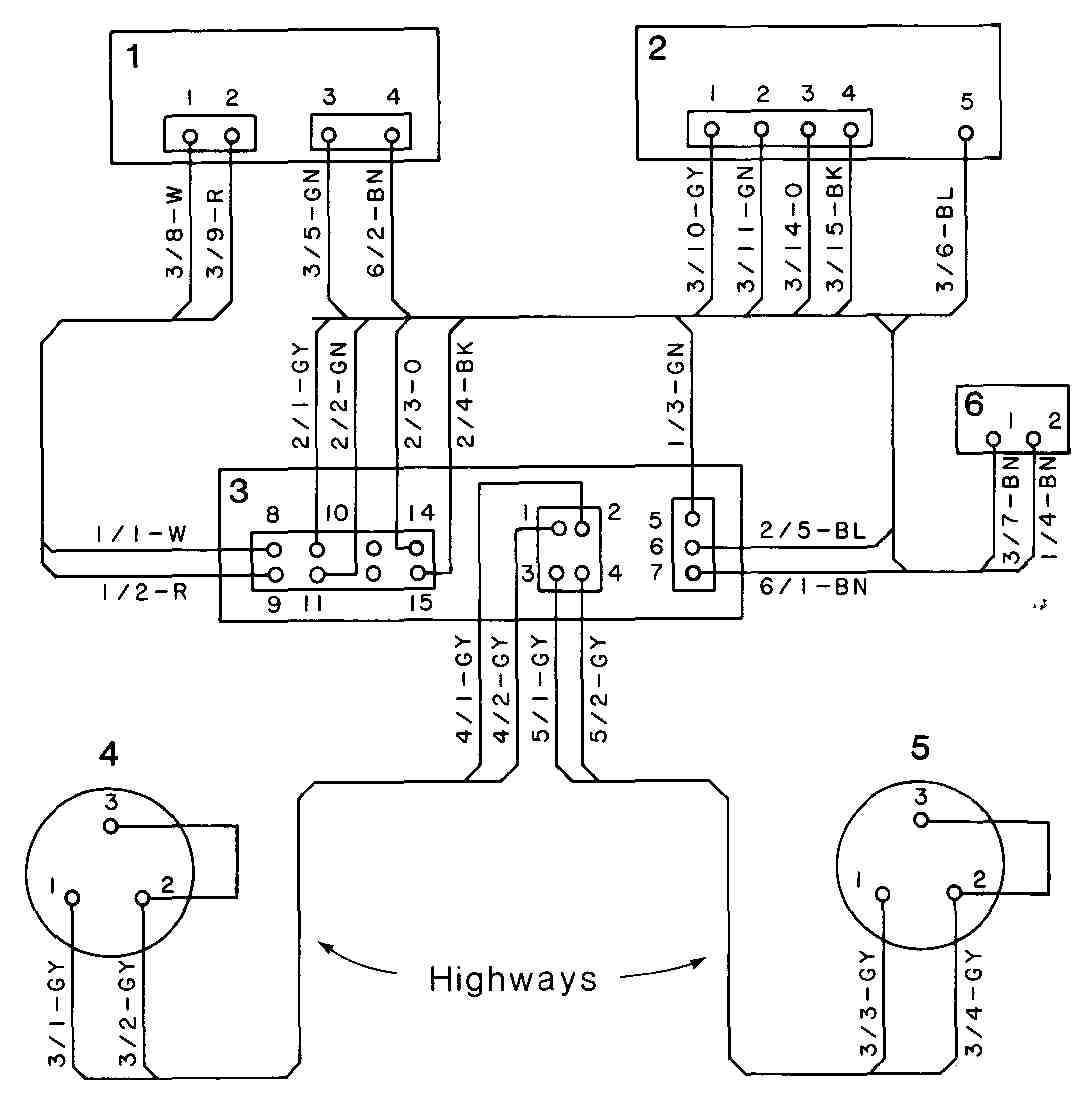 Wiring, Cabling, and Chassis Drawings (part 1)