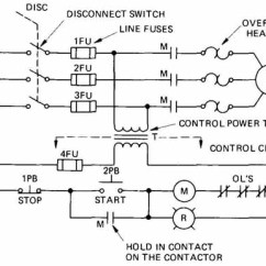 How To Read Electrical Elementary Wiring Diagrams Nordyne Heat Pump Parts Diagram And Electronic Drawing Industrial Controls 2 Of A Pushbutton Motor Control Circuit