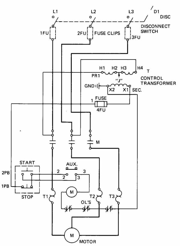 Wiring Diagram For Motor Control Circuit : 40 Wiring