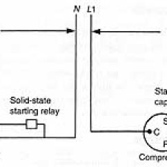 Single Phase Run Capacitor Wiring Diagram 4 Pin Trailer Light 10 3 Potential Relays Solid State Starting And Devices 5 Motor Bearings 6 Drives Components For Electric Motors