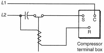 Compressor Potential Relay Wiring Diagram View Diagram