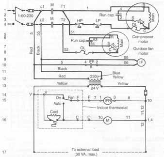 General Electric Refrigerator Wiring Diagrams Components Symbols And Circuitry Of Air Conditioning