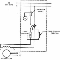 Wiring Diagram For An Alternator Winnebago Chieftain Diagrams Alternators 1 Separately Excited Circuit Field Connections Of Output