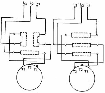 3 phase start stop switch wiring diagram gmos 04 starting three squirrel cage induction motors