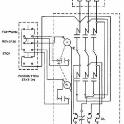 1 Phase Contactor With Overload Wiring Diagram Dual Switch Light Starting Three-phase, Squirrel-cage Induction Motors