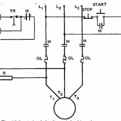 3 Phase Start Stop Wiring Diagram Dual Wye Delta Starter Schematic All Data Hub Star Motor