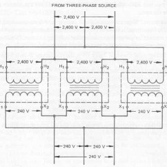 Three Phase Wiring Diagrams For Transformers Fisher Plow Diagram Minute Mount 2 Single Connected In Delta