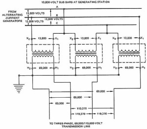 Wye and Delta Connections of SinglePhase Transformers