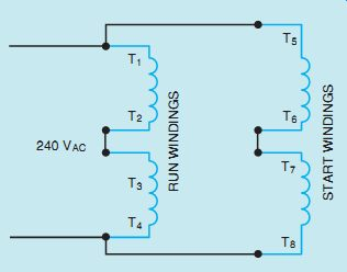 single phase capacitor start run motor wiring diagram 2 a three way switch ac single-phase motors (part 1)