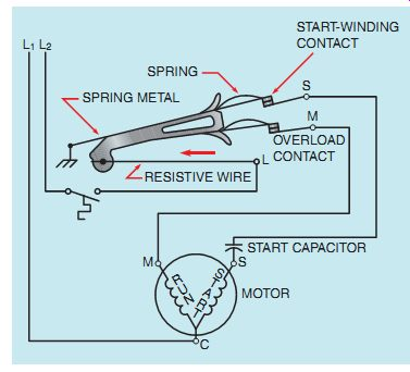 motor winding thermistor wiring diagram pagsta mini chopper free download playapk co ac single phase motors part 1