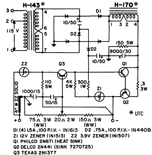 SECTION 1--POWER SUPPLIES--Solid-State Power Supplies and