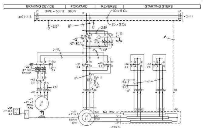 one line diagram motor starter symbol  basic guide wiring