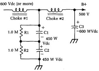 Guide to Electronic Testing--DC voltage tests and power