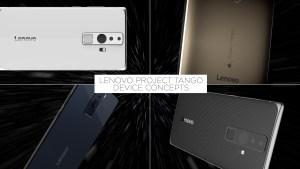 Lenovo Project Tango Gerätekonzepte Foto: Lenovo