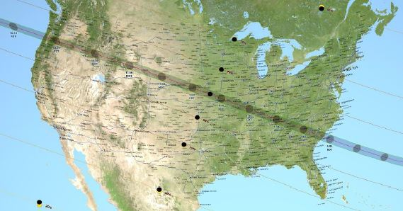 Eclipse Path Safety Practices for the Solar Eclipse Industrial Knowledge Zone
