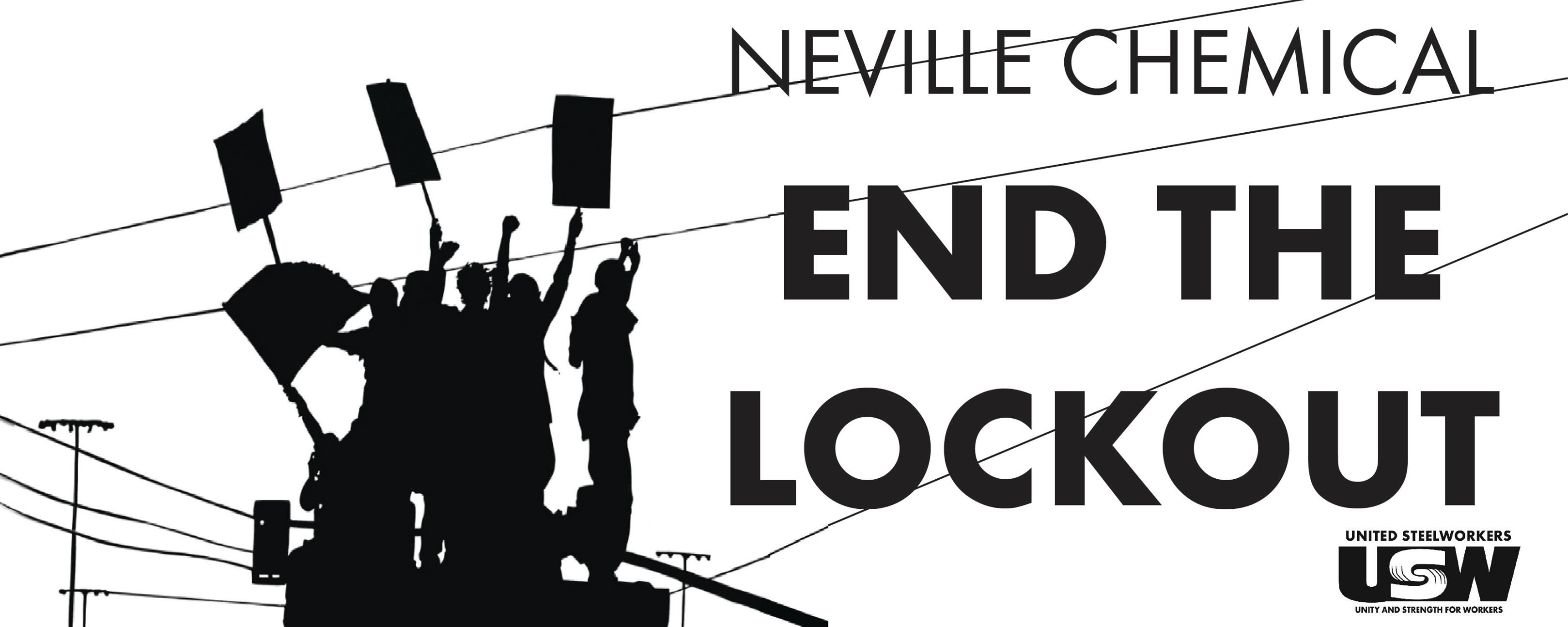 Locked Out United Steelworkers Rally At Neville Chemical