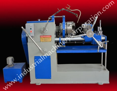 PVC Pipe Threading Machine