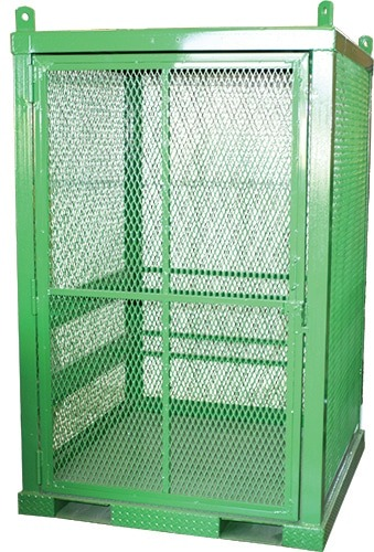 Gas Cylinder Caged Cabinets  Industrial Man Lifts