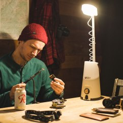 Swedish Kitchen Knives Best Lighting Sitka+ Li-ion Rechargable Led Lantern