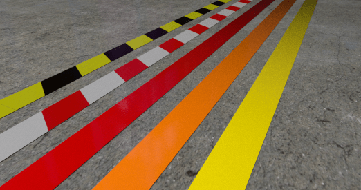 Aisle Marking Floor Marking Floor Tape Warehouse Labeling