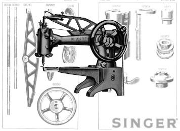 SINGER 29K71 29K72 29K73 29K171 Patcher Machine Parts