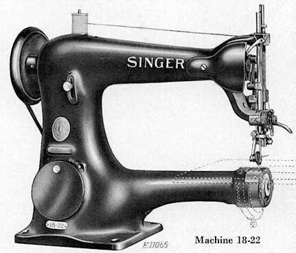 Singer 18 18U