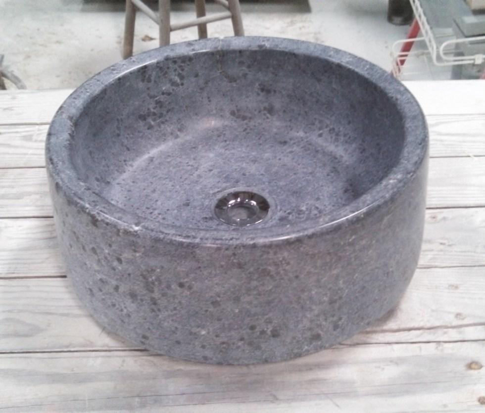 16in Soapstone Bar / Vessel Sink