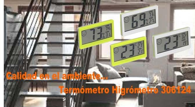 Diseño y utilidad Termohigrómetro 306124