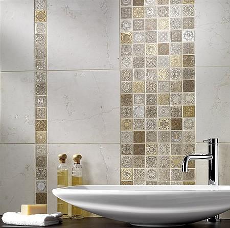 Mosaico Metal Full Decor Beige