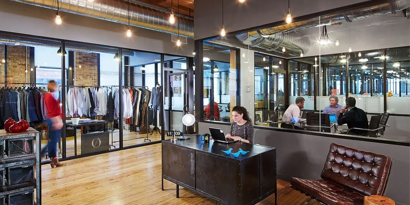 Chicago River North Coworking Office Space Industrious
