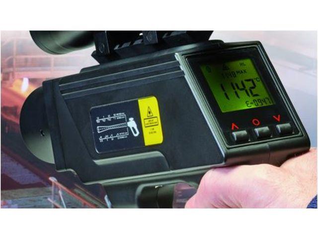 Industrial handheld pyrometers measure temperatures up to ...