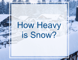 How Heavy is Snow?