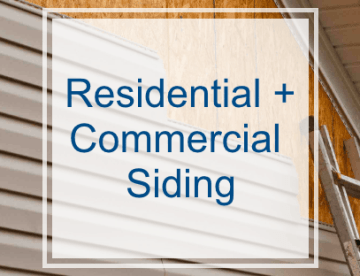 Residential and Commercial Siding