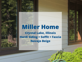 Crystal Lake Siding Installation