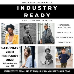 INDUSTRY HAUS PHOTOGRAPHY WORKSHOP