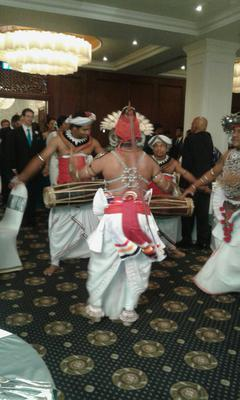 The Sinhalese Poruwa Ceremony Of Sri Lanka