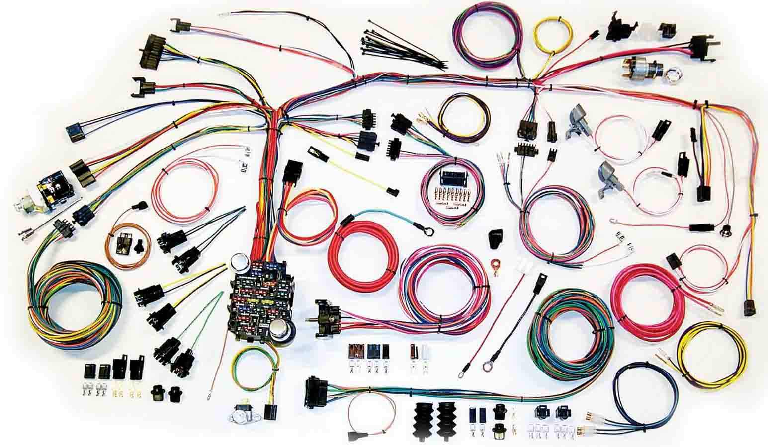 hight resolution of 67 68 camaro wire harnes system