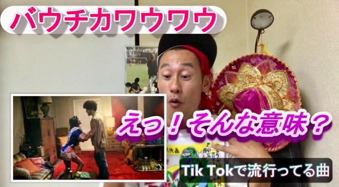 【TIK TOK(ティックトック】で流行ってるダンス曲、人気曲の和訳&解説してみた!5