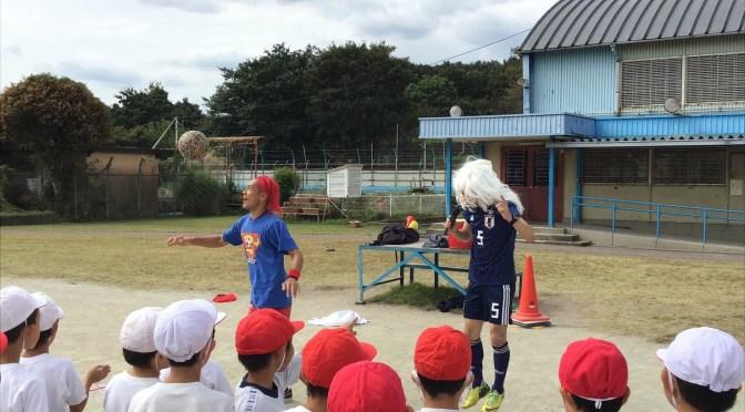 武蔵村山市にてボール体験レッスン!