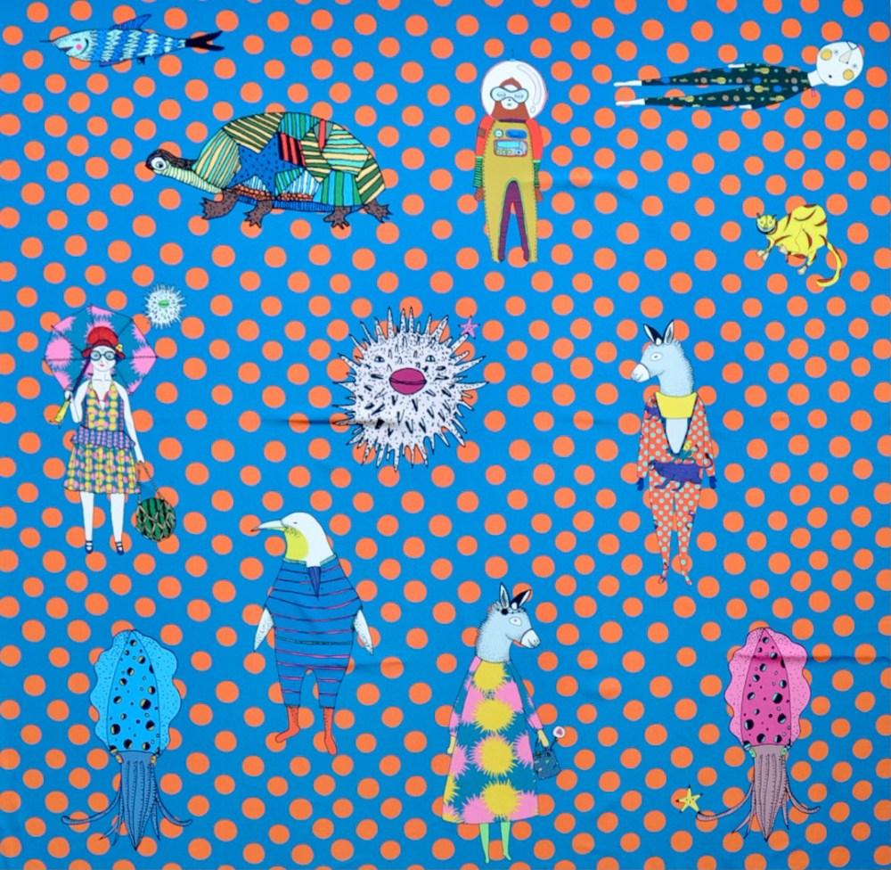 Mannine Japanese designer fabric Indy Bindy fabrics