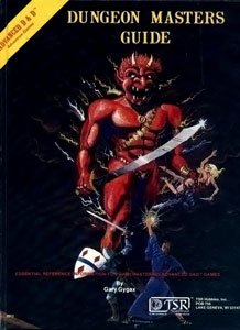 AD&D Dungeon Masters Guide by Gary Gygax